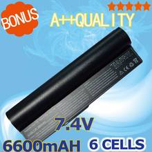6600mAh 7.4v 6 cells For Asus Battery 90-OA001B1000 A23-P701 A22-700 P22-900 A22-P701 Eee PC 2G Surf 700 900 4G 701 4G(China)