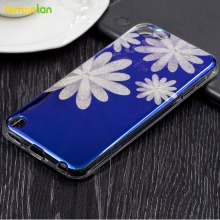 Lemonlan Blue Ray Artist for Apple iPod Touch 5th 6th 6G Case Soft Clear Slim Protective Back Cover Shell Bag