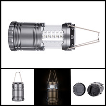 Portable Outdoors Lantern For Camping 30 LED Camping Light For Fishing Foldable Tourist Tent Lamp Fishing NEW