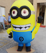 2m Despicable Me Advertising Inflatable Balloon for Party & Event Supplies Minion(China)