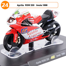 1:18 Scale Motorcycle Model VALENTINO ROSSI Aprilia RSW 250 No.46 Imola 1998 Racing Bike Collections Toys Boys Gifts(China)