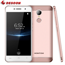 "Original Homtom HT37 Pro 4G Mobile Phone MTK 6737 Double Speaker 5.0""HD 13MP Android 7.0 3GB+32GB 3000mAh Fingerprint Smartphone"