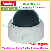 Lihmsek 130 Degree Wide Angle Lens Fisheye Security Analog Camera / 700tvl CCD Effio CCTV Camera Security System Product