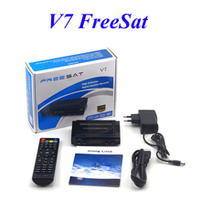 Freesat V7 DVB-S2 Satellite Receptor Receiver HD 1080P 3G Youtube CCcam Newcamd PowerVu Supported Set Top box(China)