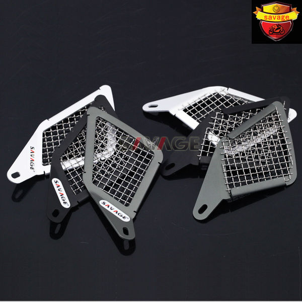 For BMW R1200GS LC 2013-2017 14 15 Motorcycle Aluminum &amp; Stainless Steel Air Intake Grill Guard Cover Protector<br><br>Aliexpress