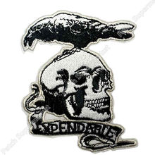 "3.9"" THE EXPENDABLES ""EXPENDABLE"" Tattoo Uniform Logo Rocker Patch Team Crew TV movie film retro sew applique iron on patch"