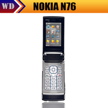 Holiday Sale Nokia N76 Original Mobile Phone with Russian Keyboard