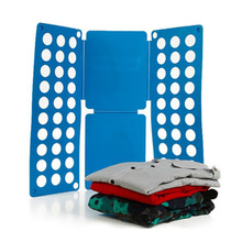 HOT Clothes Laundry Child Folder T Shirts Dress Pants Flip Folding Folder Board Organizer Fast Speed Save Time Kid Cloth Only(China)