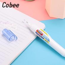 Cobee Correction Liquid Stationery Correction Supplies Quick Dry Milky Office Useful Text correction fluid(China)