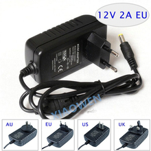 Article 12 v2a switching power supply LED lamp power supply 12 v power supply  power adapter  router Free shipping