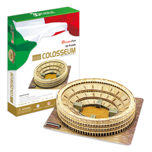 Development of intelligence,Educational toys,good quality,foam,emulational,gifts,paper model,building,Roman Colosseum,3D PUZZLE