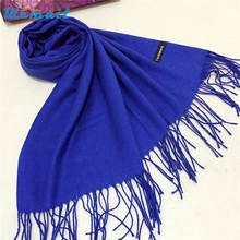 Womail Good Deal  New Fashion Women Winter Warm Cashmere Solid Soft Long Shawl Wrap Scarf Gift 1PC*23
