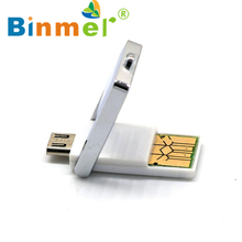 2017 New 2in1 Micro USB 2.0 OTG Adapter + Micro SD TF Card Reader For Smart Phone PC High Quality Wholesale Price_KXL0410