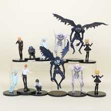 Anime Death Note L Killer Ryuuku Rem Misa Amane PVC Action Figures Toys 6pcs/set(China)