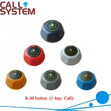 Waiter Call Button K-M, single call buzzer, hot sale for restaurant coffee shop and bar; can be personalized(China)