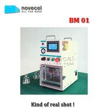 Novecel BM01 Bubble free bonding machine /laminating machine /vacuum laminator lcd refurbishing machine for all kinds of LCD(China)