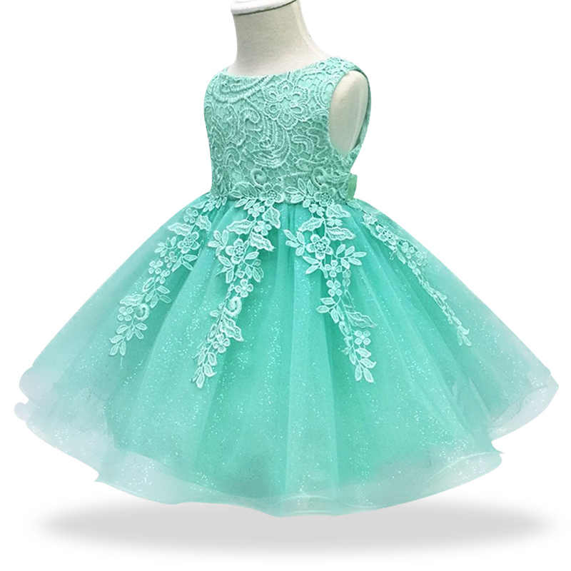 5dc27b354 Infant Dress 2019 Summer Baby Lace Princess Dresses For Baby Girls 1 Year  Birthday Dress Newborn
