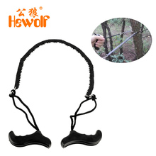 Hewolf Outdoor Portable 50cm Pocket Chain Saw Chainsaw Chain Camping Hiking Travel Tool Emergency Kits Drop Shipping