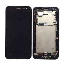 For ASUS Zenfone 2 Laser ZE550KL ZE500KL ZE551ML Lcd Screen Display with Touch Digitizer Assembly With frame 1 piece