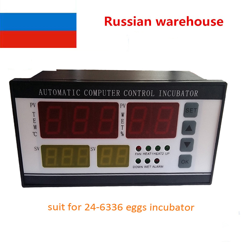 Best selling Temperature and  humidity controller for incubator XM-18 (24-6336 chicken eggs) with sensors<br><br>Aliexpress