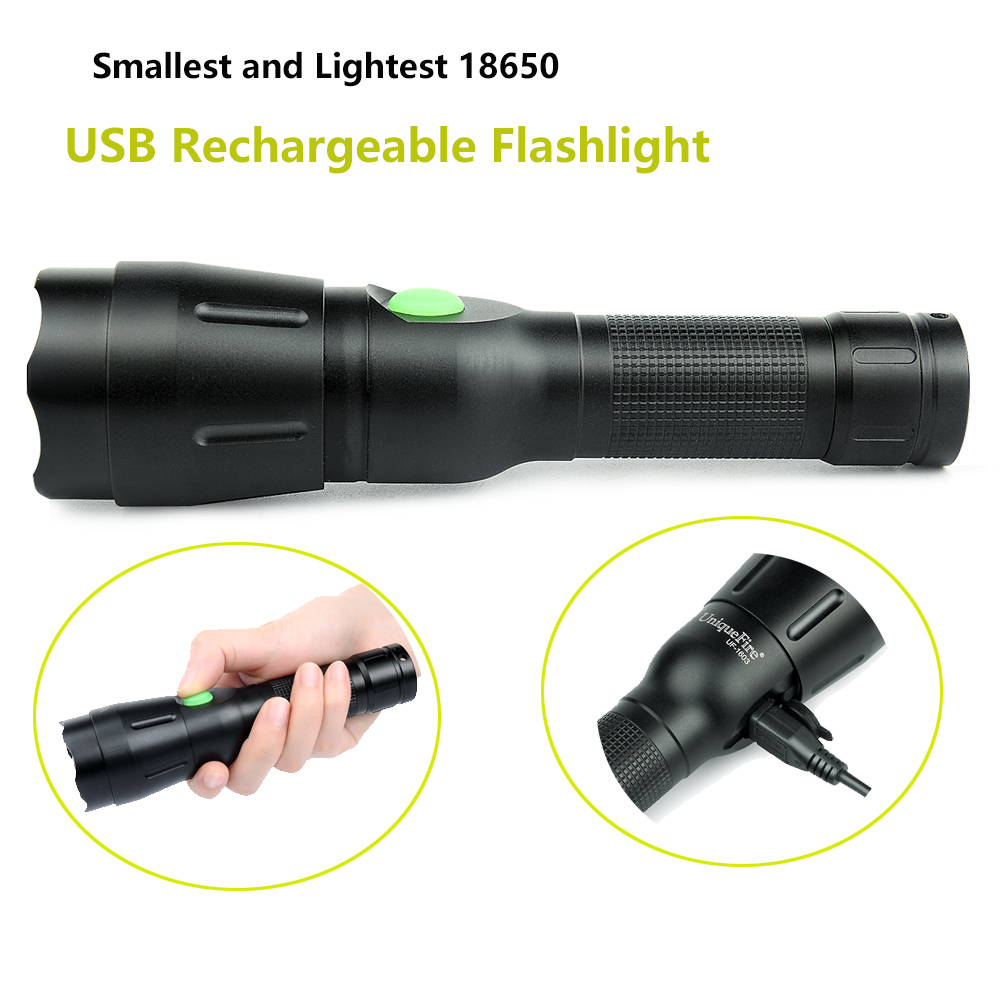 1603 IR940 USB Infrared LED Flashlight 38 Lens Zoomable 4 Modes Waterproof Lampe Torch With USB Charging Cable<br>