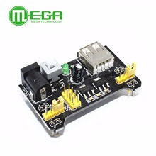 10pcs Breadboard Power Supply Module 3.3V 5V MB102 Solderless Bread Board(China)