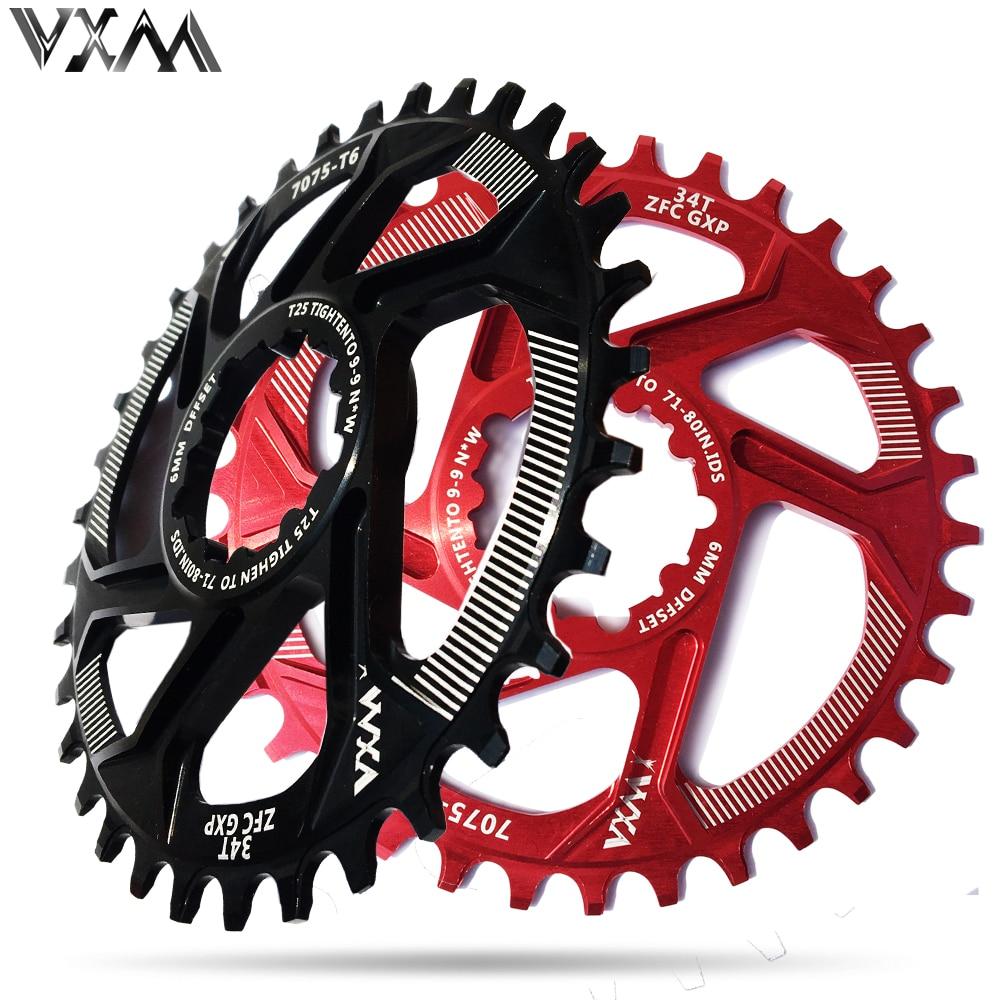 DECKAS Bike Crankset 32//34T Chainring Chain Ring for SRAM GXP XX1//XO//X9 Bicycle