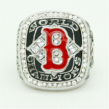 Whosale Sales Promotion for Replica Newest Design 2004 Boston Red Sox Major League Baseball Championship Ring for Fans(China)