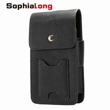 SophiaLong Waist Pack for Huawei Y7 Prime Case for Huawei Y6 Pro Enjoy 7 Plus Flip Cover for All 5.7 inch or Less Cell Phone Bag(China)