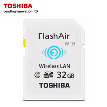 TOSHIBA 16GB 32GB wifi sd card Wi-Fi Memory Card For Digital Camera Photographer Shower Casio TR150 TR200 Android iOS Device