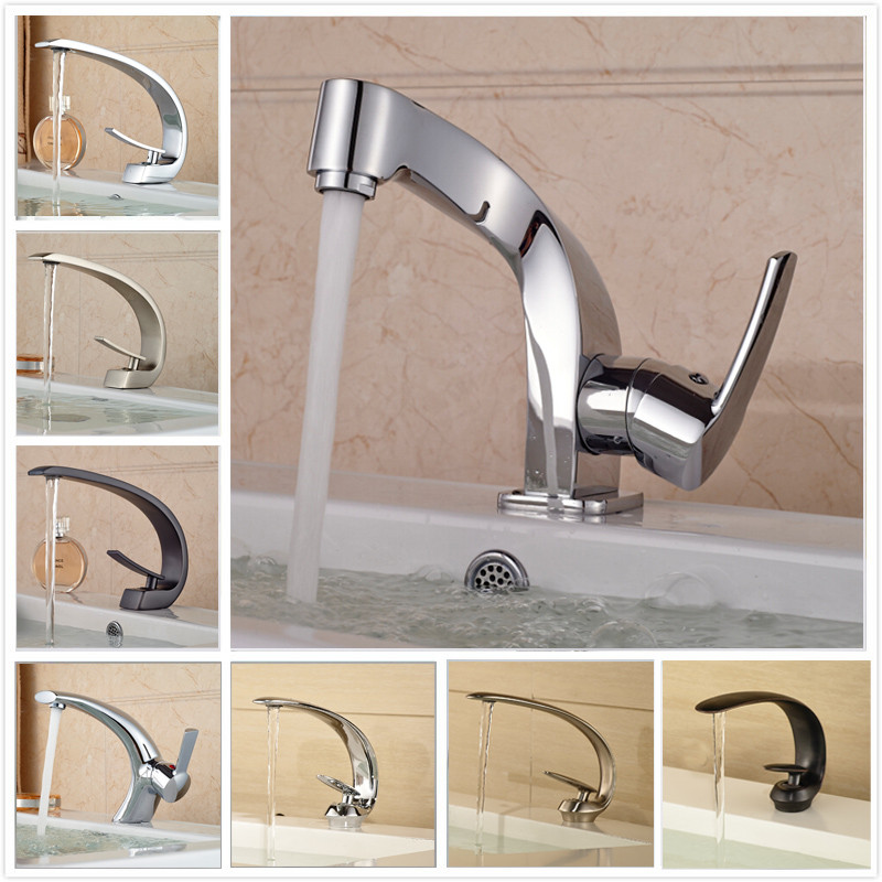 2018 Multiple Styles Many Colors Wash Basin Sink Countertop Faucet ...