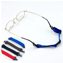 12Pcs/Lot Anti-Slip Sports Adjuatable Glasses Cords Separate Eyewear Sunglasses Ropes 4 Colors Free Shipping