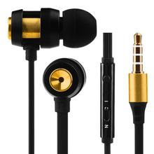 High quality Super Bass Stereo In-Ear Earphone Sport Headset with In-Ear Headset For Iphone7 High-quality TPE cable,