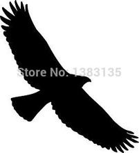 New ! Tribal Eagle Bird Hawk Car Sticker For Truck Window Bumper Auto Door Laptop Kayak Birds Vinyl Decal 9 Colors