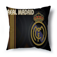 Hot sell Madrid real betis decorative cushion cover for sofa car living room Spanish fans throw The home decor  pillowcase 45x45
