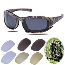 Buy Polarized Tactical Goggles Camo Military Army Glasses UV Protection Cycling Eyewear 4 Lens Unisex Sunglasses for $9.79 in AliExpress store