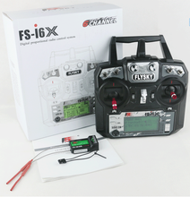 Newest Flysky FS-i6X 2.4GHz 10CH RC Transmitter With i-BUS Receiver For RC Heli Quadcopter Airplane(China)