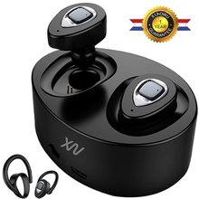 Original XIAOWU k5 mini Headset wireless bluetooth earphone Binaural earbuds with Mic Charging Box for iphone 8 /android phone(China)