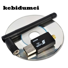 kebidumei USB wifi RT8192 300Mbps USB WiFi Wireless Network WI-FI LAN Adapter & Antenna Computer Accessories Support WPS(China)
