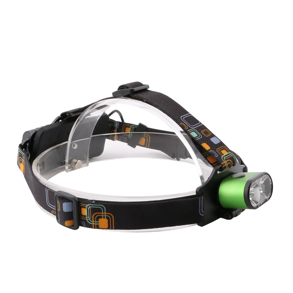 New 2 LEDs Super Bright 5000LM XML T6 LED Headlight Headlamp USB Rechargeable LED Head Light Lamp Flashlight 18650 For Camping
