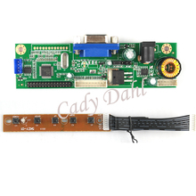 "Wholesale 10 Pcs VGA LVDS 30 Pins Driver Controller Board Module DIY Kit for Raspberry PI 3 7"" - 24""  LCD Display Matrix Panel"