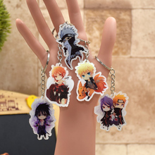 Naruto  Keychain Key Ring Holder Stand Support Action Figure Pendant Accessories Minato Uchiha Madara Akatsuki  LTX1