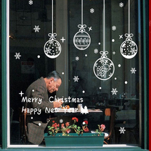 Merry Christmas Wall Art Removable Home Vinyl Window Wall Stickers Decal Decor(China)