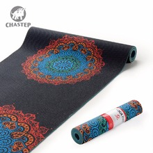 Chastep183x61cmx6mm Thick PVC Yoga Mats Fitness Environmental Tasteless Lose Weight Exercise Fitness Yoga Gymnastics Mats Indoor(China)
