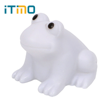 ITimo Color Changing Home Lighting Cute Colorful Children Gift Atmosphere Lamp LED Frog Night Light Bedroom Decoration(China)