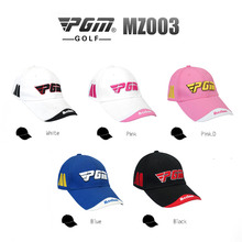 PGM Brand Golf Hat Golf Caps Unisex Cotton Golf Sunscreen Hat Embroidery Trademark Top Cap Golf Hats Sport Peaked Cap 5 Colors
