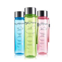 CURGE Plastic Brief Sports Style Water Bottle Non-toxic 350ml 600ml Portable Juice Mug space Cup My Colorful Bottle for Water