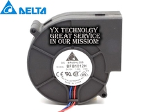 Delta New Special units 100 BFB1012H-FOO hole 1.2A Gale dual ball bearing Turbo-fans for(China)