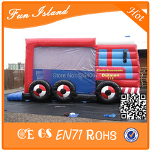 China Manufacturer Commercial Car Design Inflatable Bouncing Combo / Castle Combo Inflatable(China)