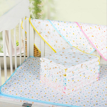Baby Infants Diaper Reusable Durable Washable Waterproof Urine Mat Cover Changing Pad Free Shipping(China)